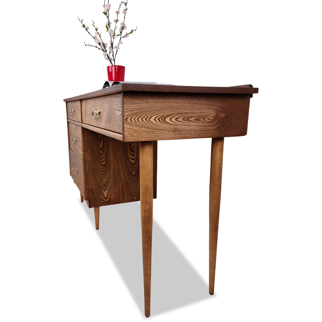 Oak and Walnut Desk