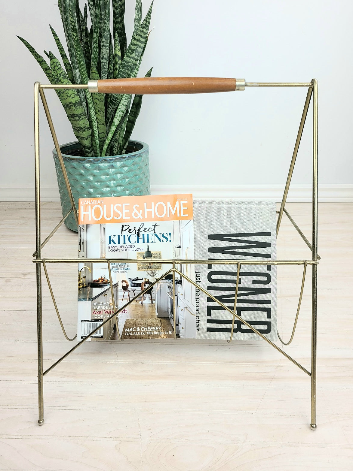 Brass Magazine/Record Stand