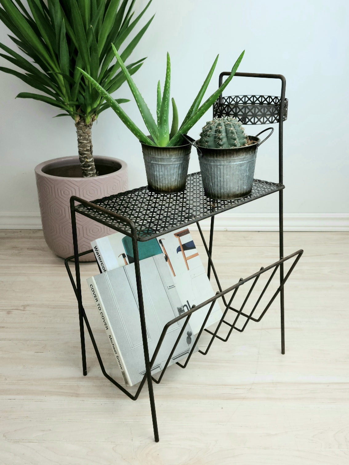 Multi-tier Magazine/Plant/Record Stand