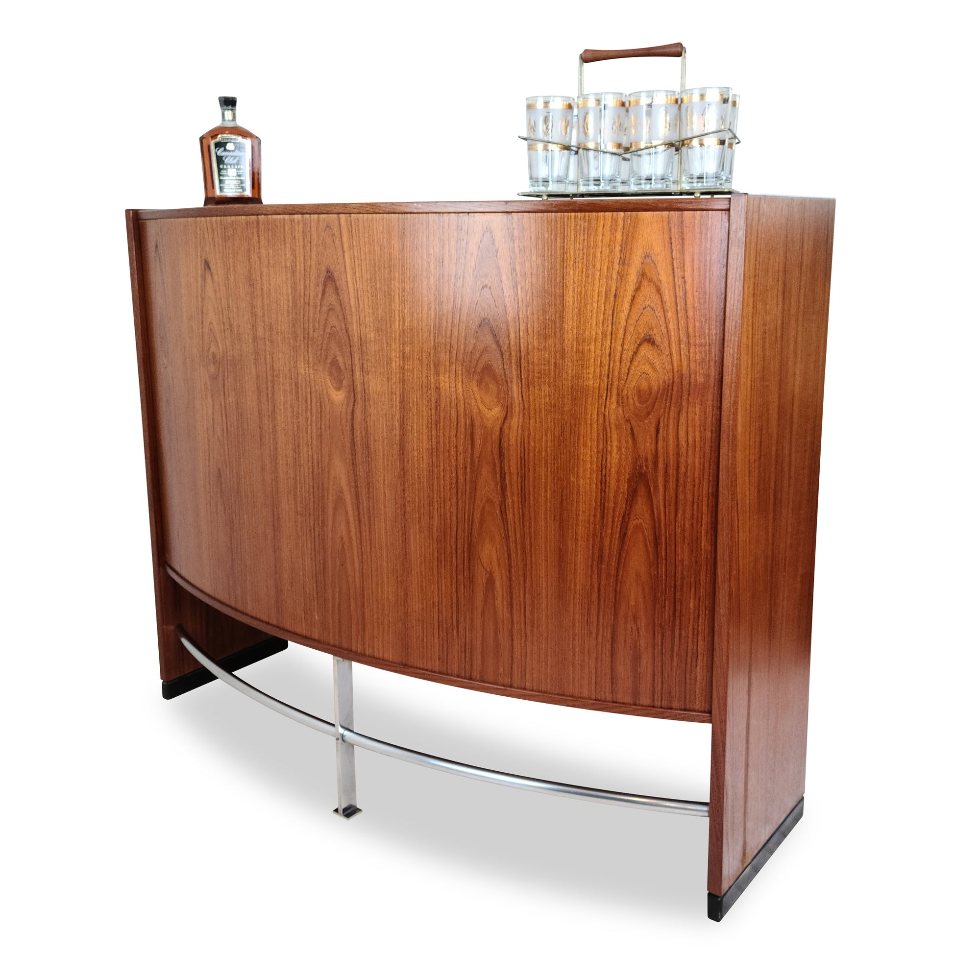 Mid Century Teak Bar by Dyrlund