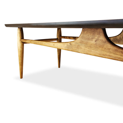 Walnut and Birch Coffee Table