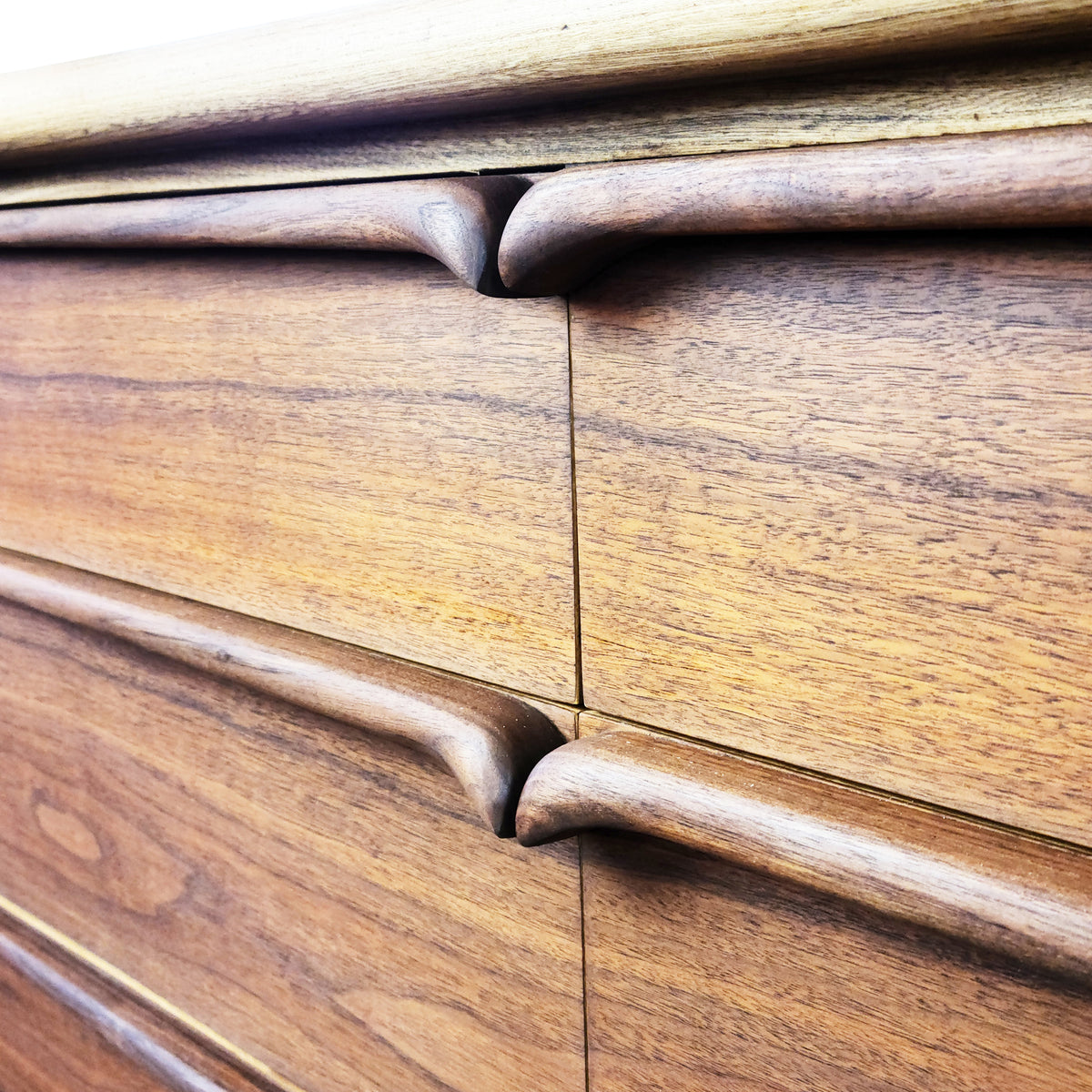 Walnut and Ash Dresser by United Furniture