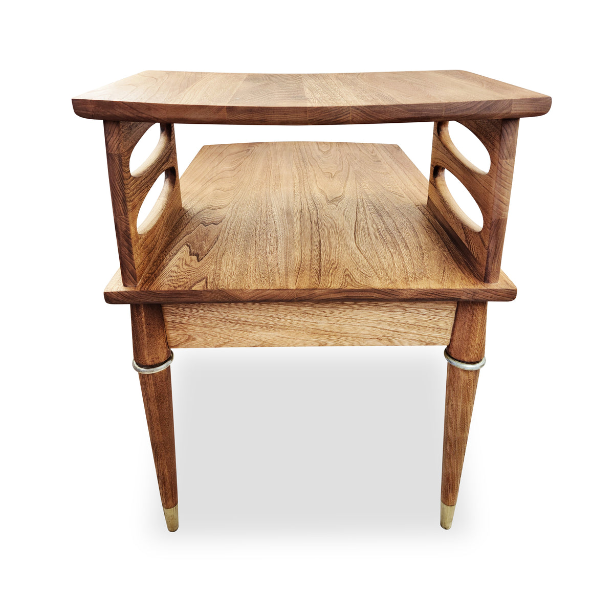 Ash Two-Tier Side Table