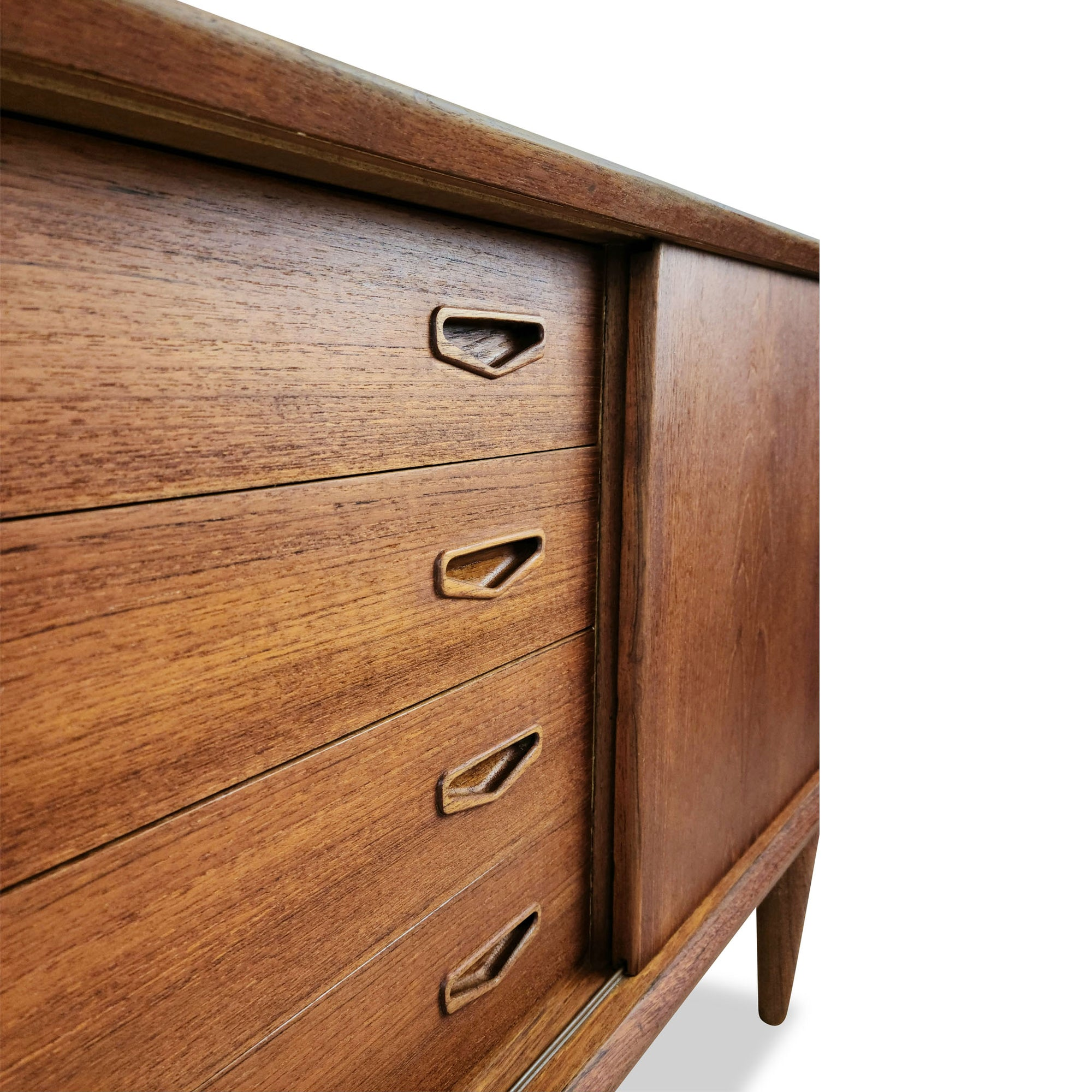 Teak Sideboard By Clausen And Son Decade Five Furniture Co
