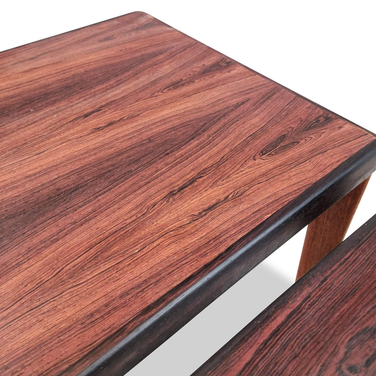 Henning Kjaernulf Rosewood Side Tables
