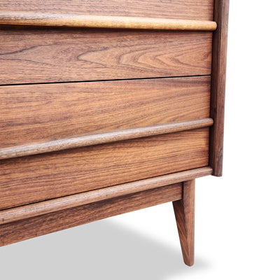 Walnut Highboy by Gibbard Furniture