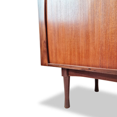 Teak Tambour Door Sideboard by R.S. Associates