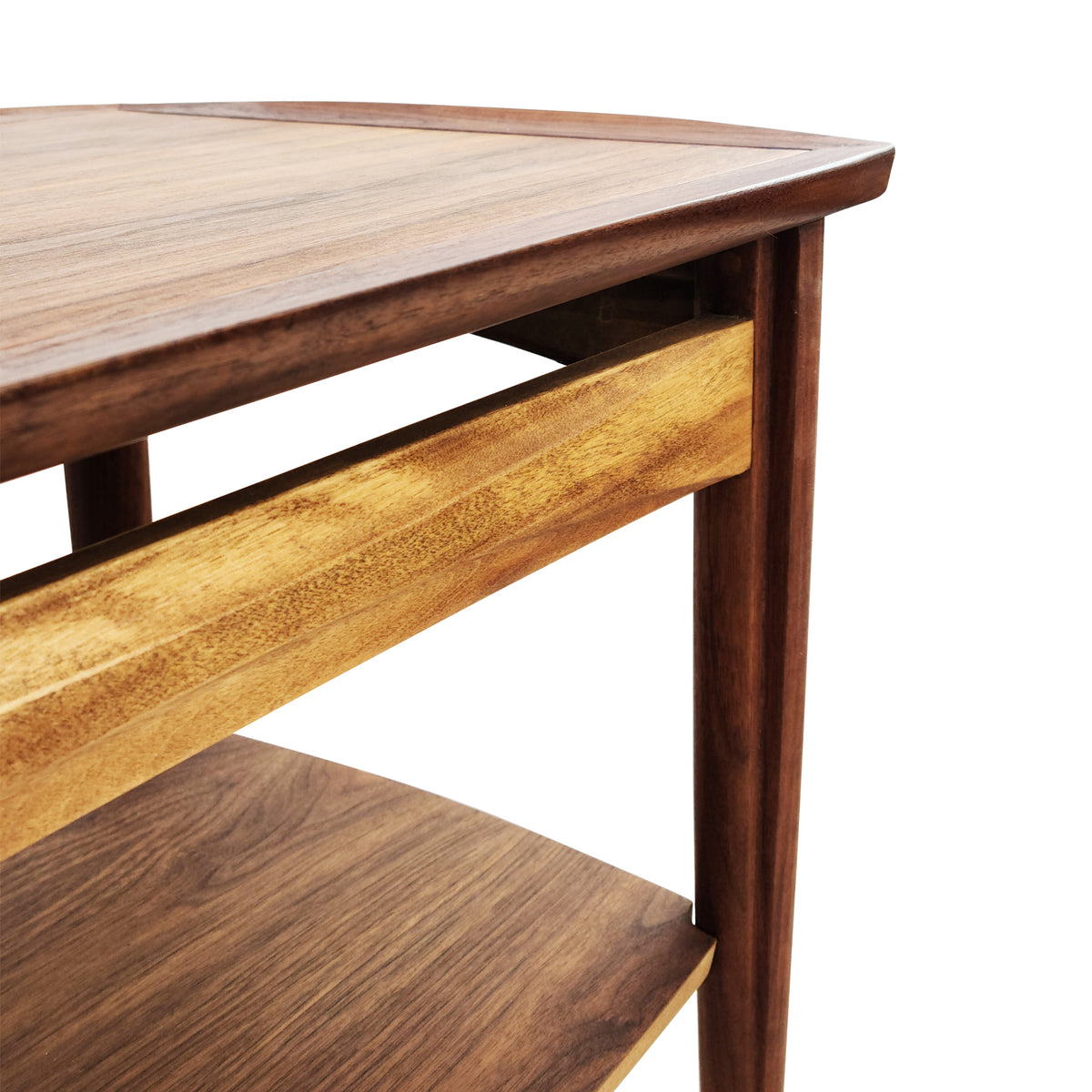 Pair of Walnut Side Tables by Deilcraft