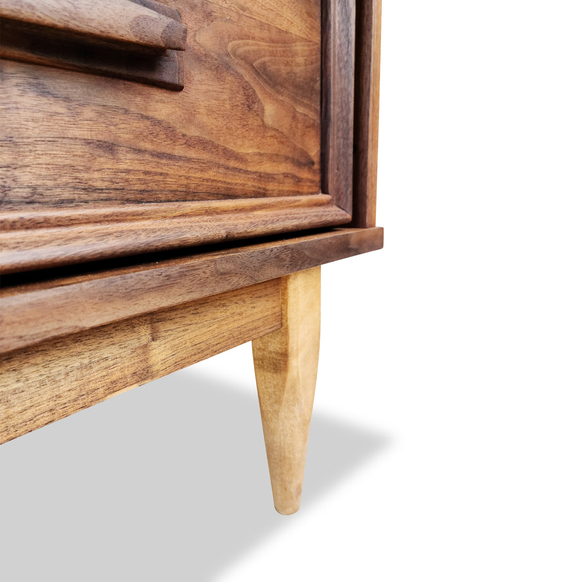 Mid Century Walnut Sideboard by Princeville