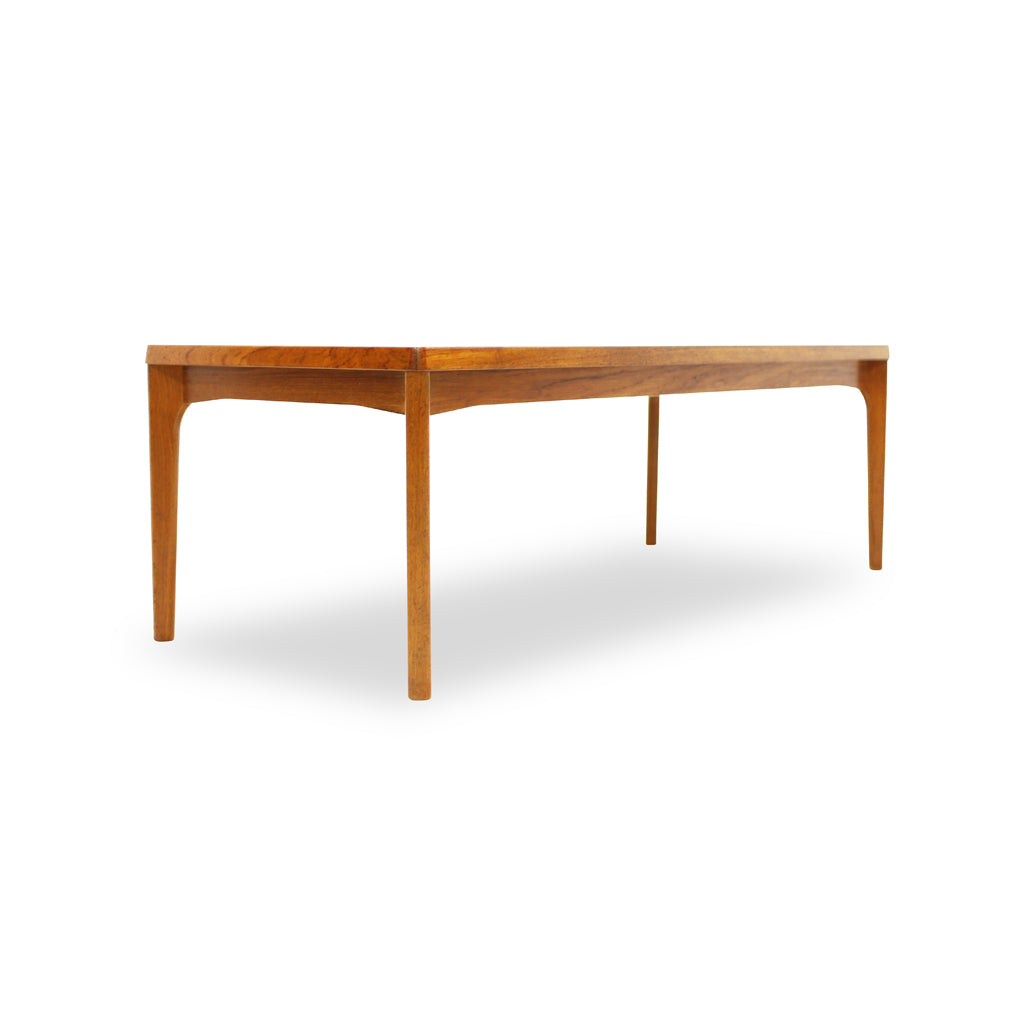 Danish Teak Coffee Table by Henning Kjærnulf for Randers