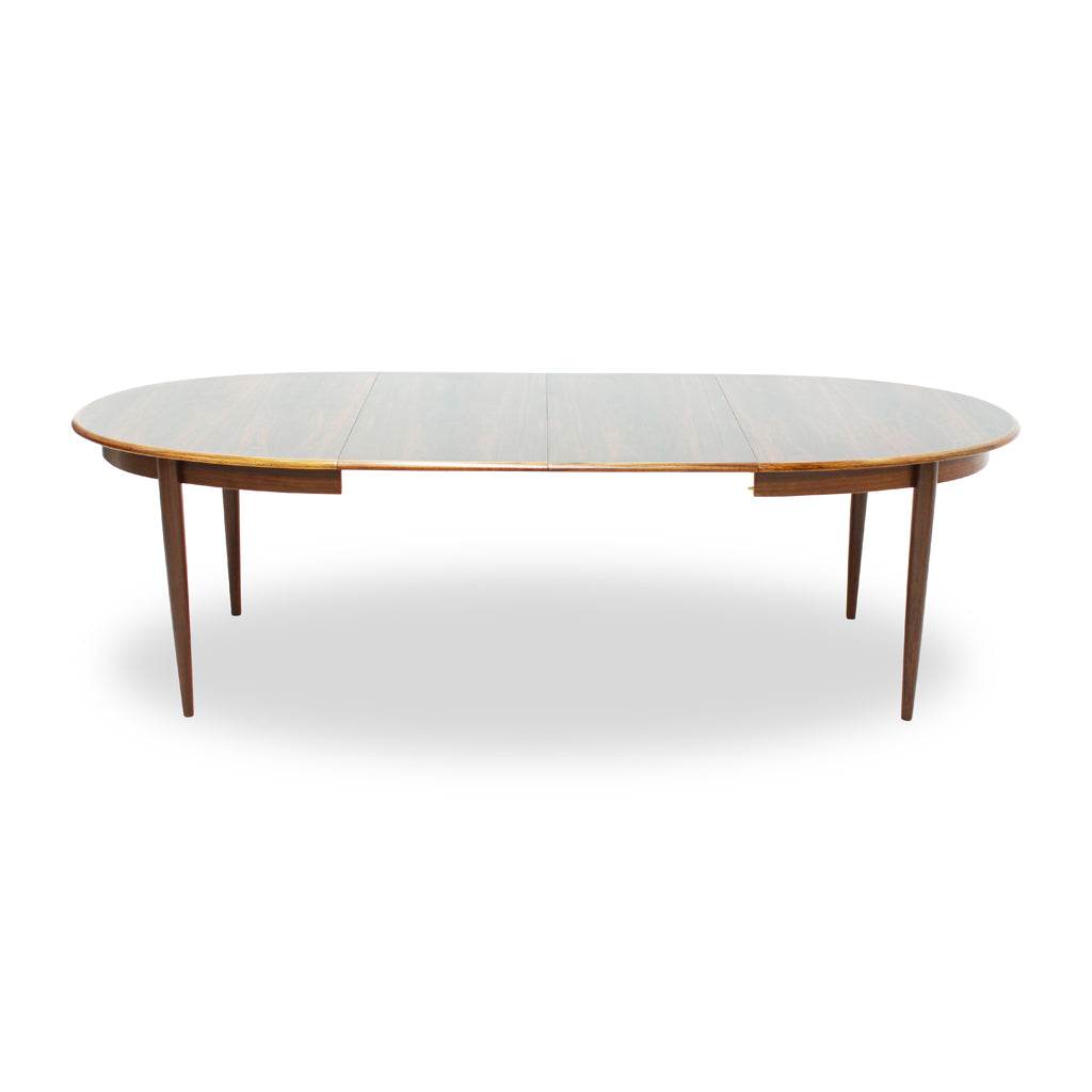 Danish Rosewood Dining Table by Gudme