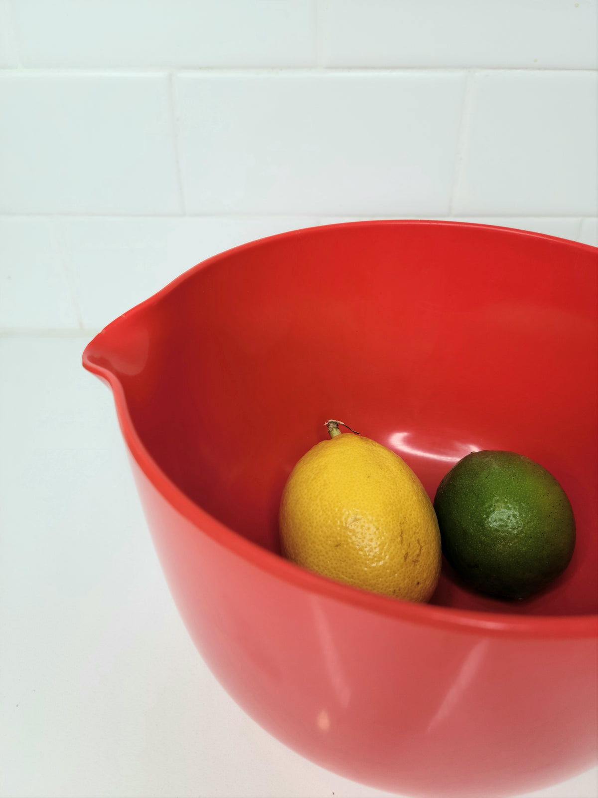 Vintage Rosti Mixing Bowl with Spout