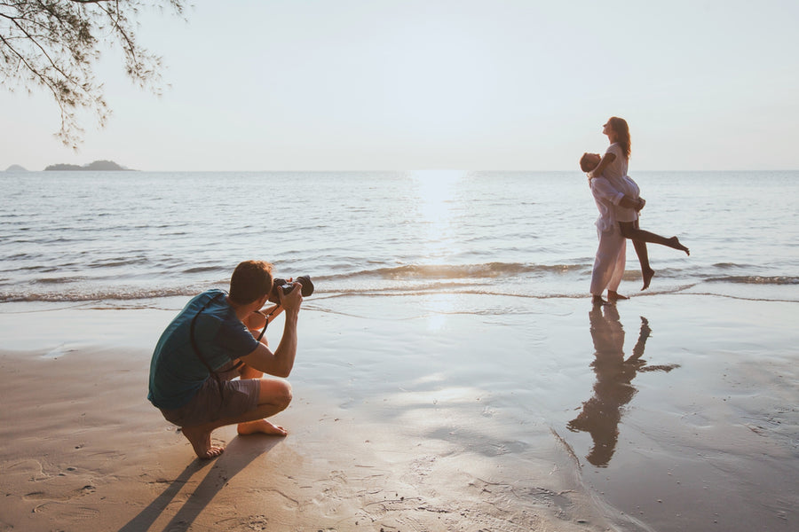 Top 6 Tips for Taking Better Beach, River or Lake Photos Over Mother's Day