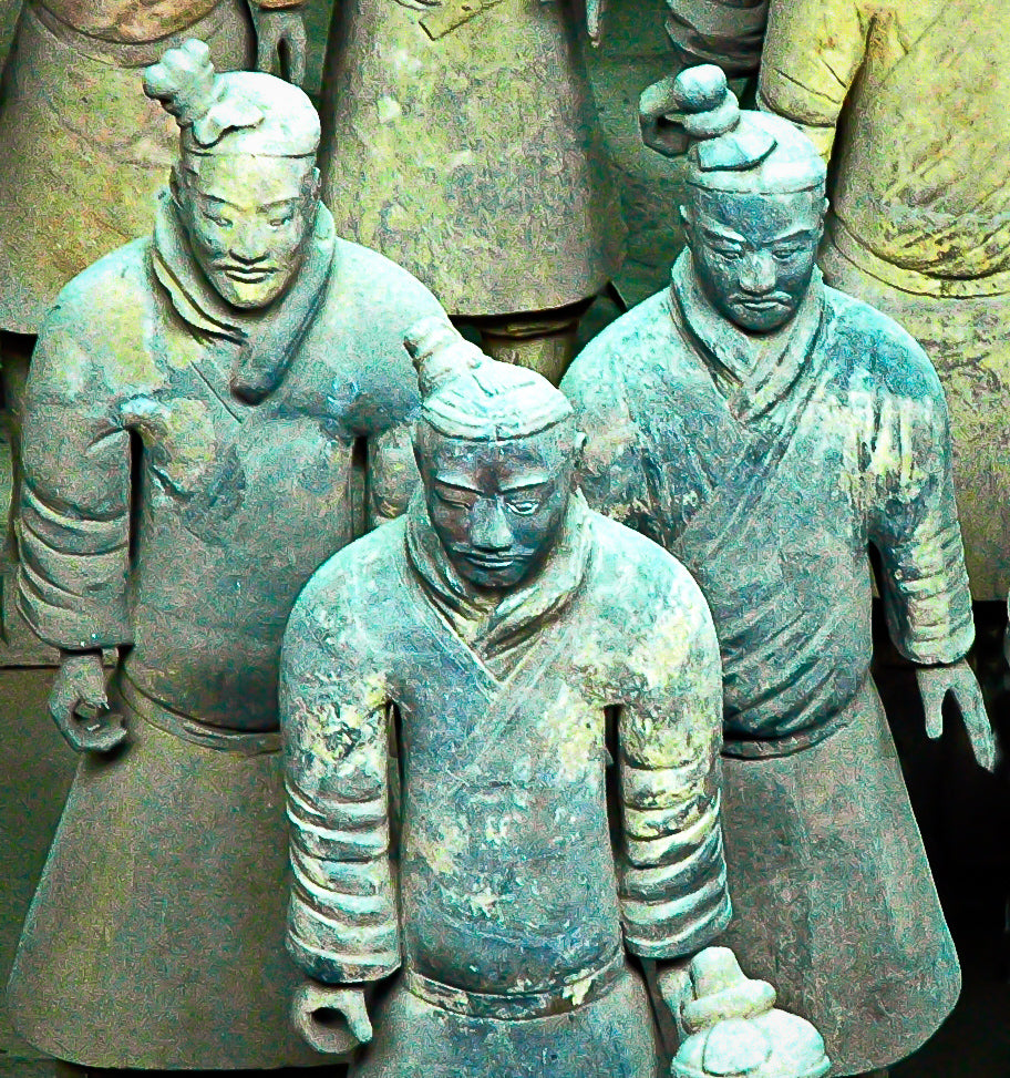 Terra Cotta Soldiers - Tracy McCrackin Photography