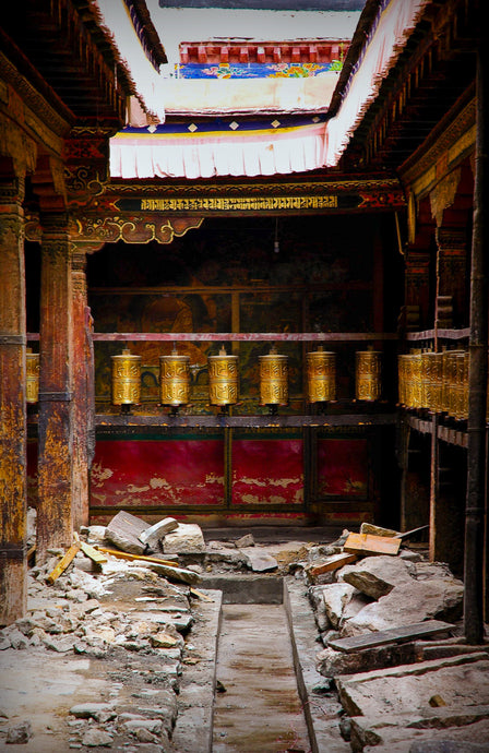 Tibetian Monestary Prayer Wheel