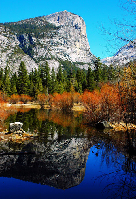 Mirror Lake at Fall - Tracy McCrackin Photography