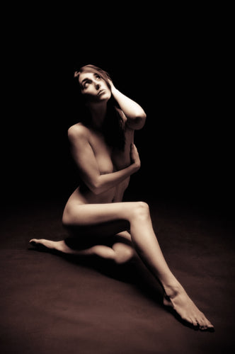 Fine Art Nude, Calm Grace - Tracy McCrackin Photography