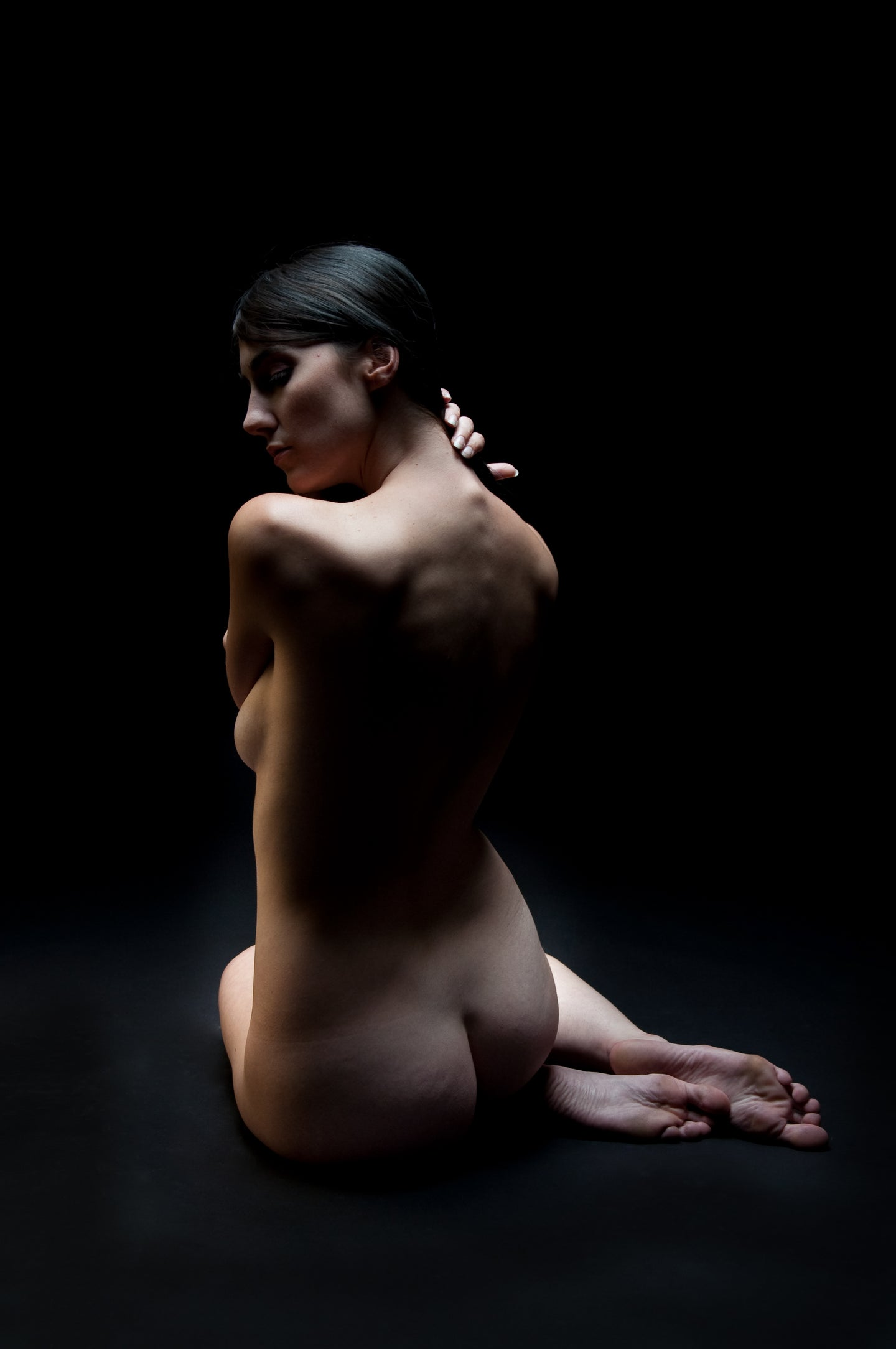 Classic Fine Art Nude (Back) - Tracy McCrackin Photography