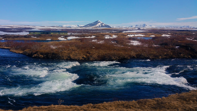 Spring rapids in Iceland