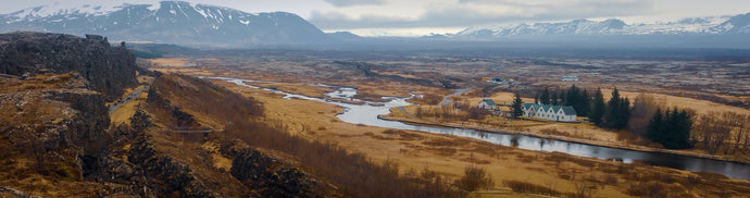 Meadows and fields of Iceland Panorama - Tracy McCrackin Photography
