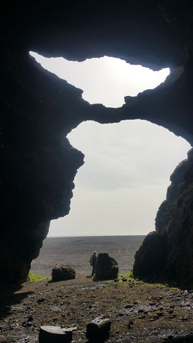 Viking Cave Naturally Shaped Like Viking - Tracy McCrackin Photography