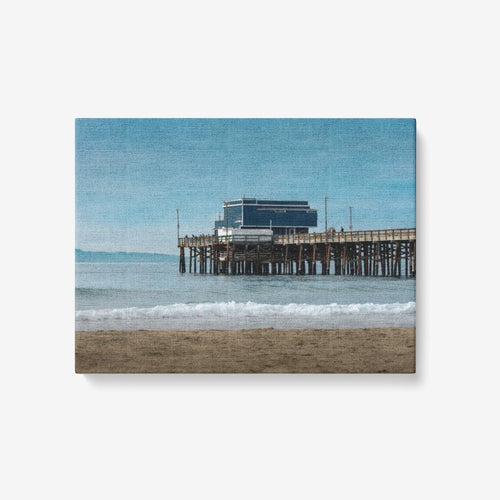 Tranquil Beach -1 Piece Canvas Wall Art for Living Room - Framed Ready to Hang 24