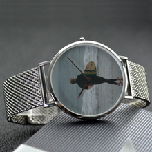 Load image into Gallery viewer, Surfer - 30 Meters Waterproof Quartz Fashion Watch With Casual Stainless Steel Band - Tracy McCrackin Photography