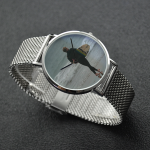 Surf's Up - Waterproof Quartz Stainless Steel Band Watch - Tracy McCrackin Photography