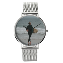 Load image into Gallery viewer, Surf's Up - Waterproof Quartz Stainless Steel Band Watch - Tracy McCrackin Photography