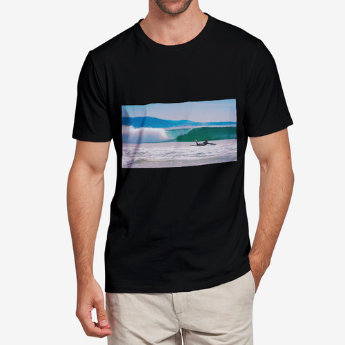 California Waves Heavy Cotton Adult T-Shirt - Tracy McCrackin Photography