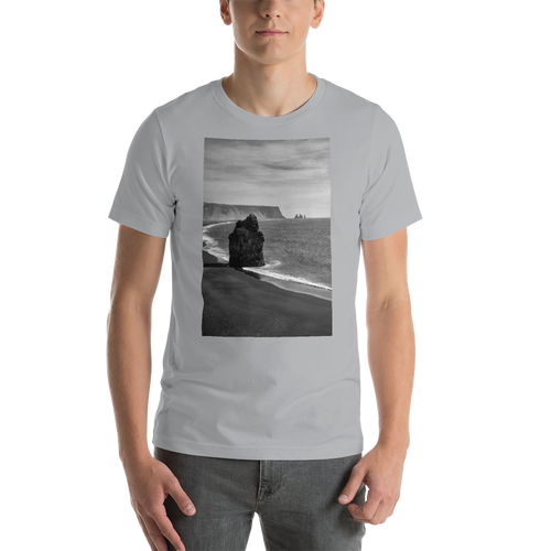 Black Beach Short-Sleeve T-Shirt - Tracy McCrackin Photography