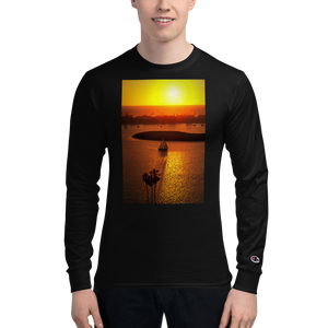 California Sunset Champion Long Sleeve Shirt - Tracy McCrackin Photography
