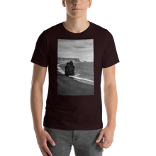 Load image into Gallery viewer, Black Beach Short-Sleeve T-Shirt - Tracy McCrackin Photography