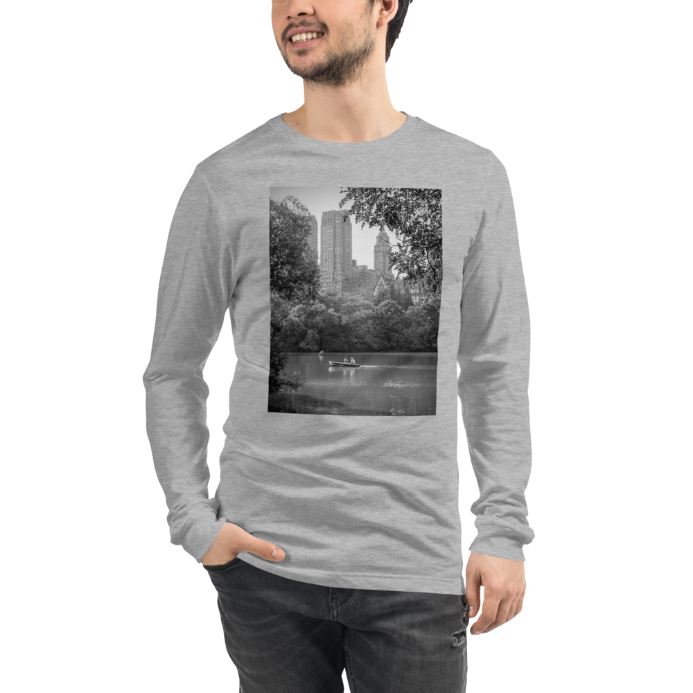 New York Park Crew neck Long Sleeve Tee - Tracy McCrackin Photography