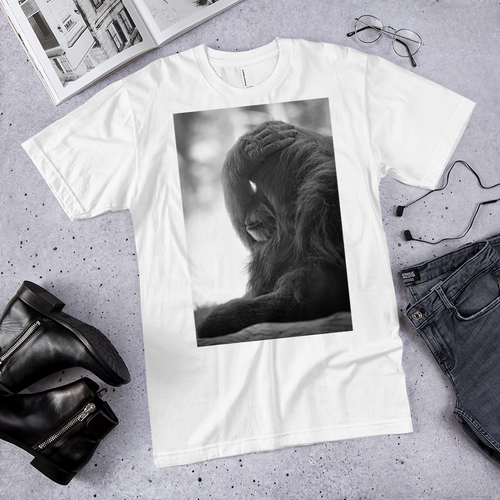 Funky Thinking Gorilla T-Shirt - Tracy McCrackin Photography