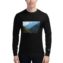 Load image into Gallery viewer, Red Bridge - Men's Champion Long Sleeve Shirt - Tracy McCrackin Photography