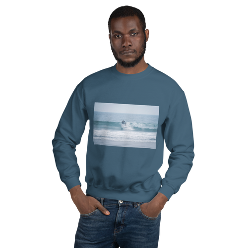 Surfing Unisex Sweatshirt - Tracy McCrackin Photography