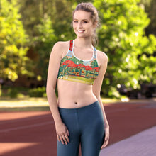 Load image into Gallery viewer, Garden Path Padded Sports Bra - Tracy McCrackin Photography