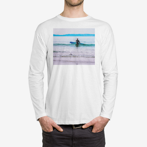 Into the Deep Crew Neck Long sleeve T-shirt - Tracy McCrackin Photography
