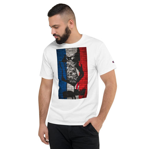 Sexy Patriot Men's Champion T-Shirt - Tracy McCrackin Photography