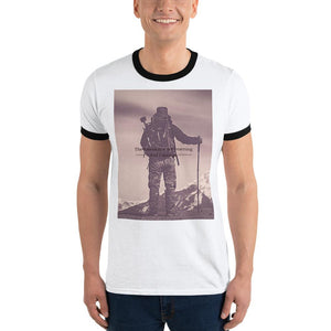 Yearning for the Mountains Vintage Ringer T-Shirt - Tracy McCrackin Photography