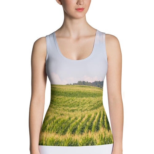 Country Fields Tank Top - Tracy McCrackin Photography