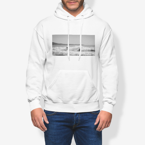 Surfing the Foam Men's Pullover Hoodie - Tracy McCrackin Photography