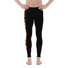 Load image into Gallery viewer, Wicked Lines Men's Leggings (Black) - Tracy McCrackin Photography