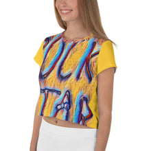 Load image into Gallery viewer, Rock Star Crop Tee - Tracy McCrackin Photography