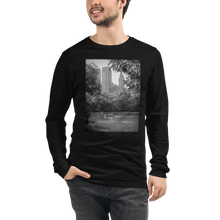 Load image into Gallery viewer, New York Park Crew neck Long Sleeve Tee - Tracy McCrackin Photography