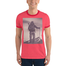 Load image into Gallery viewer, Yearning for the Mountains Vintage Ringer T-Shirt - Tracy McCrackin Photography