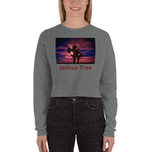 Load image into Gallery viewer, Joshua Tree Crop Sweatshirt - Tracy McCrackin Photography