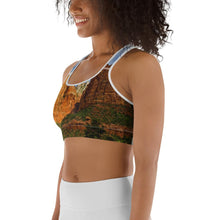 Load image into Gallery viewer, Red Rocks Sports bra - Tracy McCrackin Photography