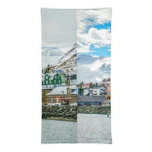 Load image into Gallery viewer, Iceland Harbor Face Mask/Neck Gaiter - Tracy McCrackin Photography
